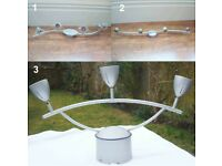 *** Superb 3 X Bars Lamp Bars Spolights - from £10 ***