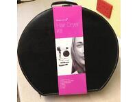 NEW Sleek Technique Hair Dryer Kit in Case