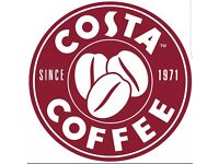 Barista role at Costa Coffee