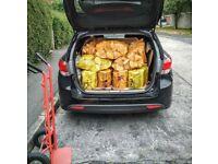 Ash / Oak - Bundle 10 nets + 1 kindling net + 25 natural firelighters - free delivery