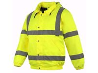 Brand new waterproof bomber jacket xl