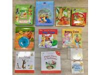 Disney / Winnie the Pooh books and audio CDs