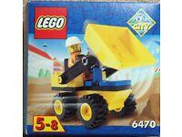 LEGO System Town Jr. 6470 Mini Dump Truck