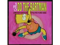 "Do the Bartman 7"" picture disc"