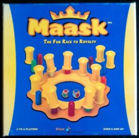 Blue Range 'Maask: The Fun Race To Royalty' Board Game (boxed)