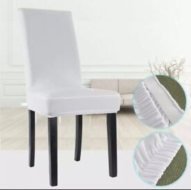 90 spandex white Chair Covers for any function/wedding