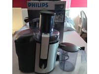 Philips Juicer HR1861 Silver Aluminium Collection