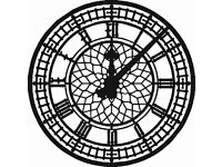 LARGE OUTDOOR CLOCK WANTED - For local school fundraising initiative .