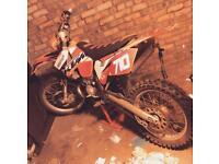 Ktm250sx bike needs to be seen