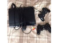 500GB Playstation 3 with 5 games including all cables and 2 controllers