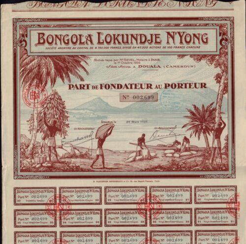 AFRICA CAMEROON Bongola Lokundje N