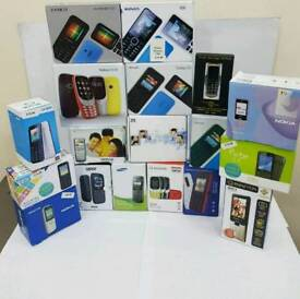 Mostly All Colours Brand New Nokia 105-108-1112-6230-6300-2730 Unlocked