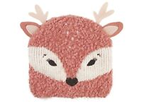 BRAND NEW Fat Face Deer Beanie Hat (Baby Toddler Childrens)