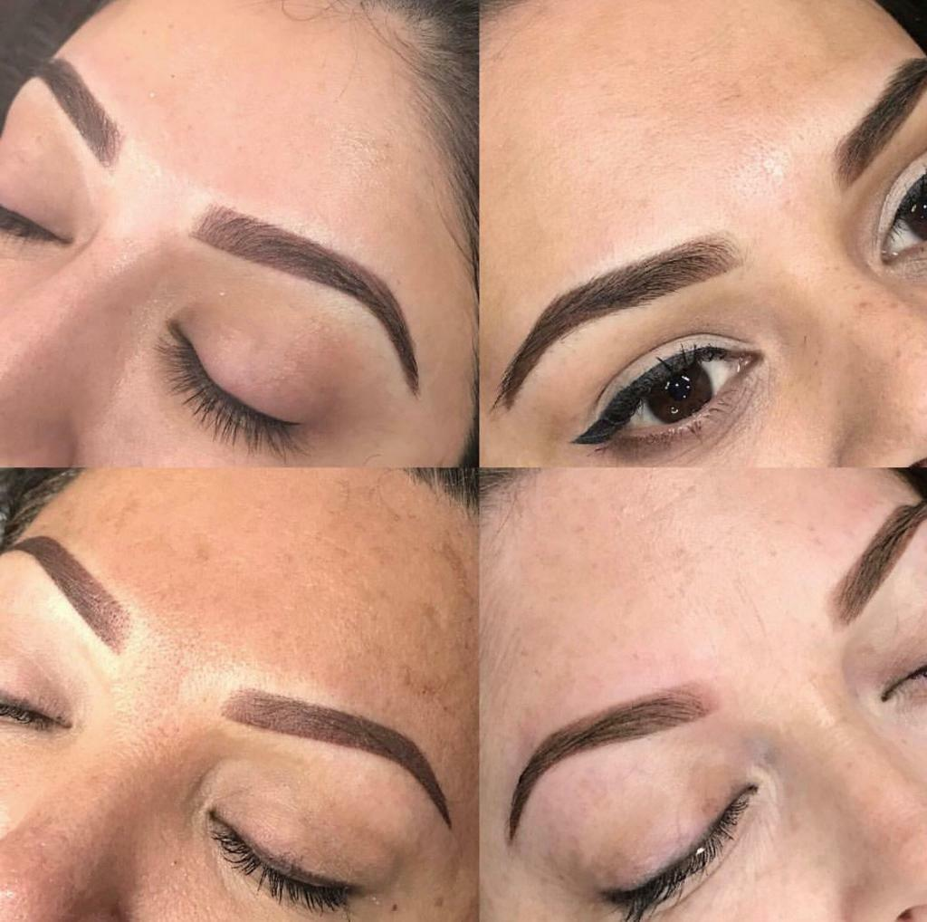 Eyebrow tattoo- ombré eyebrows- hair stroke- microblading- eyelash ...