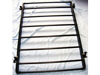 CAR ROOF RACK (BLACK) – WITH FRAMEWORK AND CROSSBARS FIXED BRACKETS