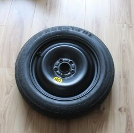 Ford Focus space saving spare wheel and jack
