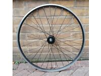 700c custom built front wheel (ideal for fixed gear or single speed bikes) £35