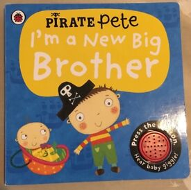 Pirate Pete's I'm a New Big Brother book