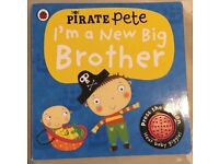 Pirate Pete's I'm a New Big Brother book