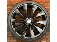"Volkswagen Golf 19"" Turbine Alloy Wheel 5x112 Scirocco/Passat CC"