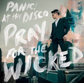 2 Panic! At the disco tickets for London 29th, seated tickets.