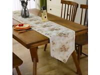 Inmerget Lace Table Runner Coffee Classic Table Decoration