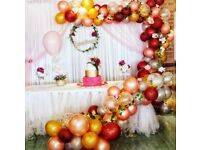 Party decorators - Balloon arches, garlands , party decorations in London