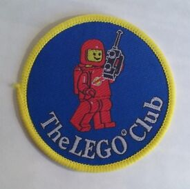 Collection of Vintage Lego Club Patches & Badges