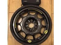 Mercedes spare wheel