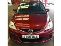 2009 Mazda 5 1.8 TS2 5dr,7 SEATER, SERVICE HISTORY Bargain car PH,07459871313
