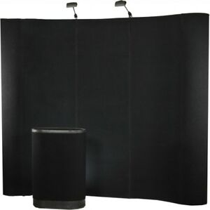 Trade Show Display Backdrop 10ft