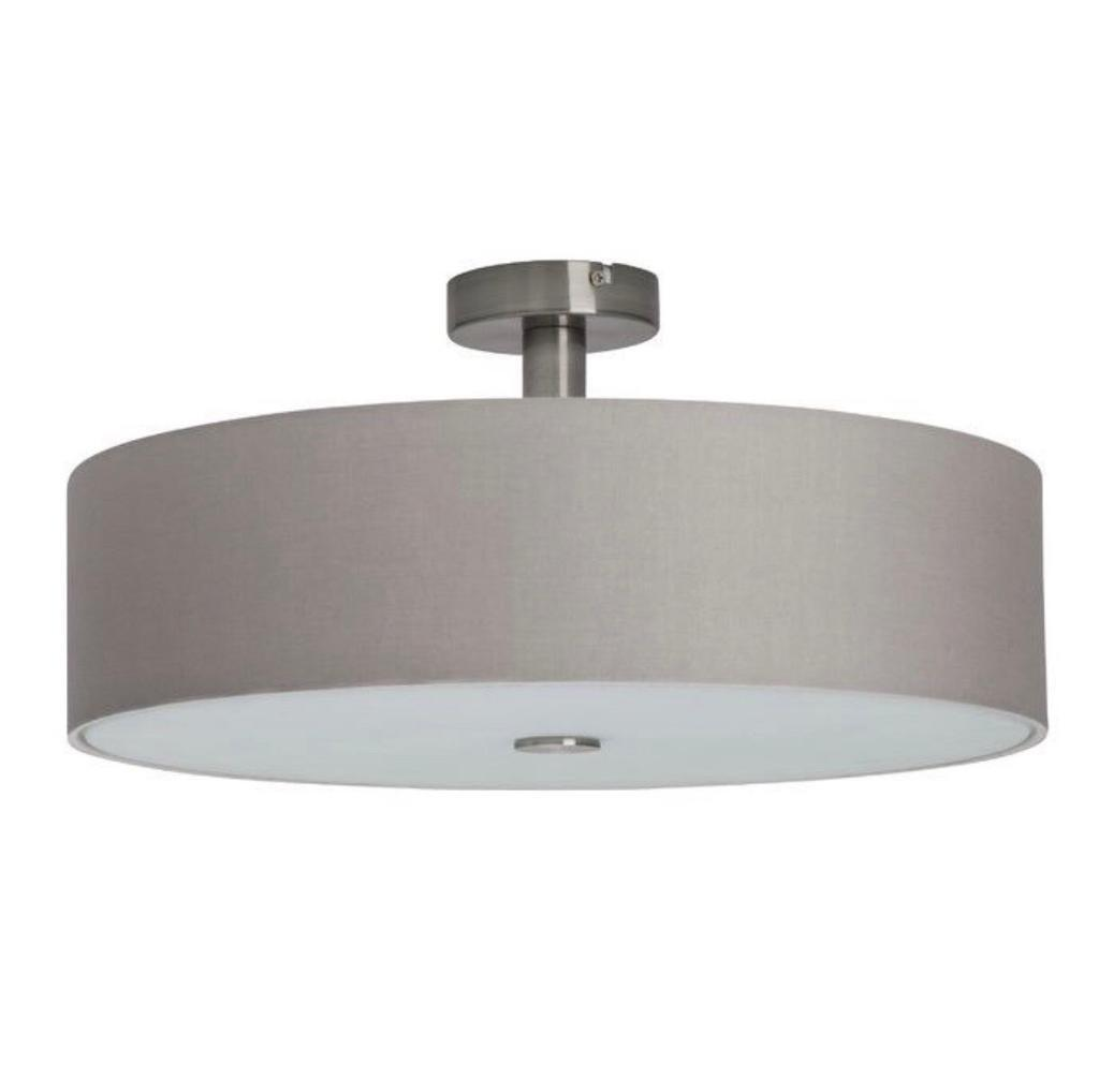 Wayfair gentle 4 light semi flush grey ceiling light boxed and brand new in richmond london gumtree