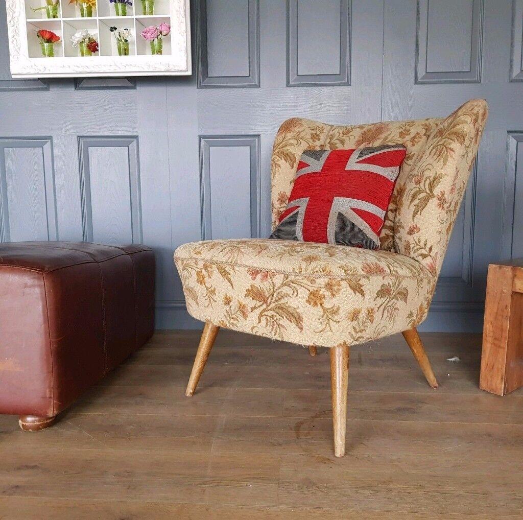 Vintage retro coctail chair
