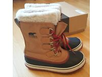 BNIB Women's Sorel Winter Boots. Waterproof & insulated RRP £140 UK 3.5 EUR 36.5