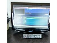Samsung LE19R86BD 19inch LCD TV with remote control suitable for wall mounting