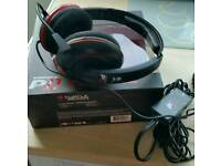 For sale or swap! Turtle Beach PS3/PS4 Gaming Headset.