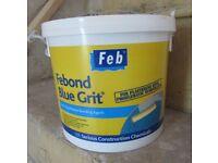 Blue grit plaster bonding agent