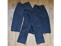 M&S Marks & Spencer NEXT Tu school trousers boys grey 3 years 3 pairs