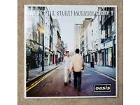 Oasis - What's the story ORIGINAL CREATION PRESS NEAR MINT