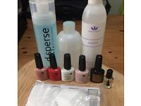 Shellac Cnd nail varnish bundle