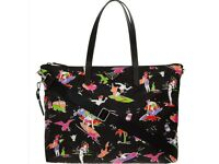 PRADA Black Beach Themed Tote Bag (100% original Guranteed) RRP £800