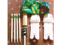 Juniors / kids professional cricket set