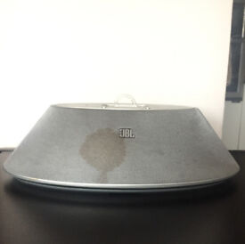 JBL speaker works perfectly & without adapter