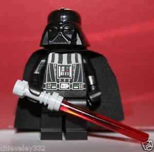 Lego Minifigure Star Wars Darth Vader with Light Saber Brand New