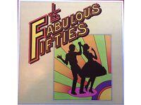 THE FABULOUS FIFTIES BOX SET { Vinyl LP'S }