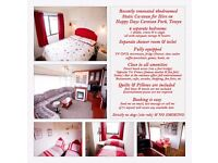 Sunny's : 4 Bed Static Caravan for Hire at Happy Days Caravan Park, Towyn, North Wales (sleeps 6-8)