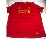 Liverpool jersey never wore tag still on brand new