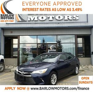 2015 Toyota Camry LE*EVERYONE APPROVED* APPLY NOW DRIVE NOW.