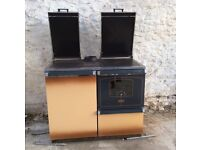 Bosky 90 Cooker and Central Heating Boiler - burns wood and coal or oil