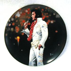 ELVIS-PRESLEY-Plate-Aloha-from-Hawaii-BRUCE-EMMETT-3rd-In-Performance-8-1-2